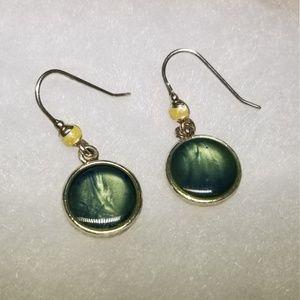 Kenneth Cole Jewelry - Kenneth Cole Art Glass Earrings #38